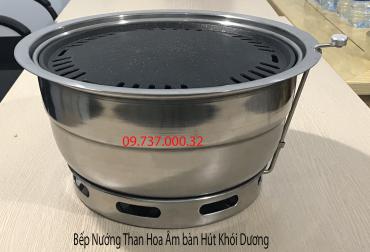 Bếp Nướng Âm Bàn Hút Dương tại Hà Nội