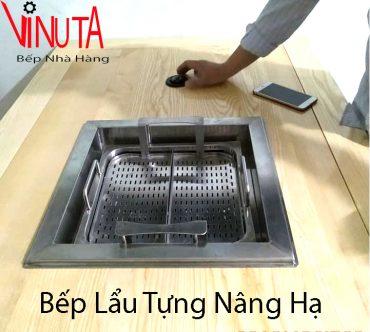 lắp đặt bếp lẩu tự hành
