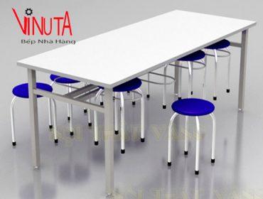 ghế bàn ăn inox có đệm