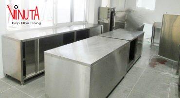 tủ bếp công nghiệp inox