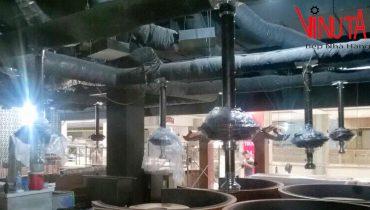báo giá Hệ Thống hút khói bếp nướng than hoa hàn quốc tại