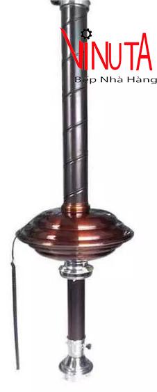 ống hút khói bếp nướng kèm trao đèn