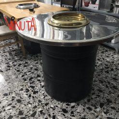 Bàn ghế thùng Phuy
