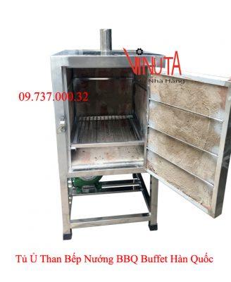 tủ ủ than bếp nướng bbq buffet hàn quốc