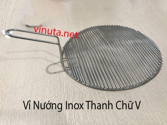 vỉ nướng inox thanh chữ V