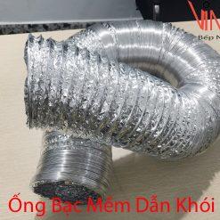 ống bạc mềm dẫn khói