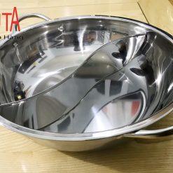 xoong nấu lẩu dùng cho bếp từ