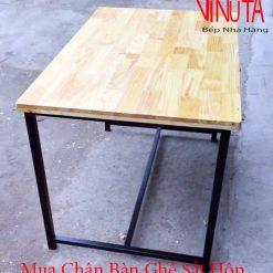 mua chân bàn ghế sắt hộp