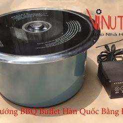 bếp nướng bbq buffet hàn quốc bằng điện