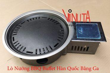 lò nướng bbq buffet hàn quốc bằng ga