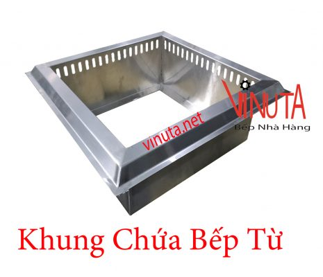 khung chứa bếp từ