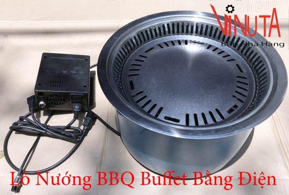 lò nướng bbq buffet bằng điện