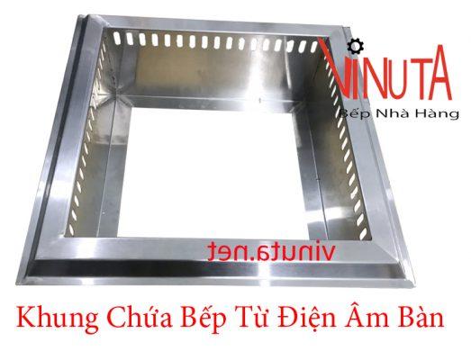 khung chứa bếp từ điện âm bàn