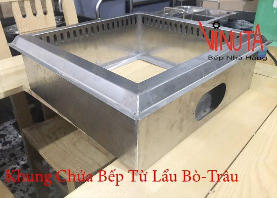 khung chứa bếp từ lẩu Bò-Trâu