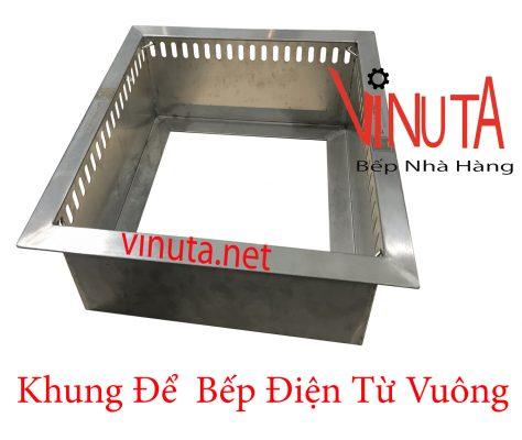 khung để bếp điện từ vuông ở bình thuận