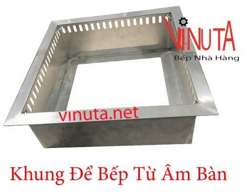 khung để bếp từ âm bàn