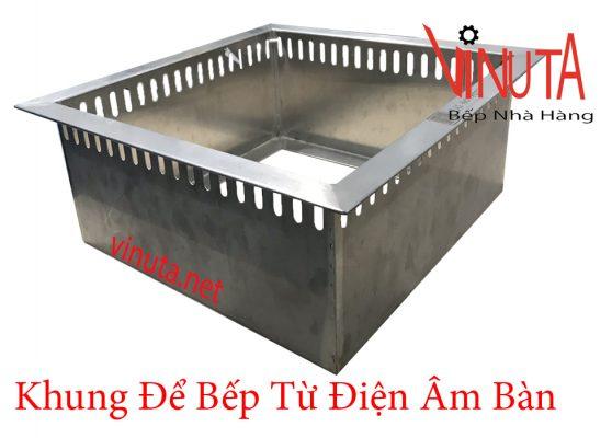 khung để bếp từ điện âm bàn