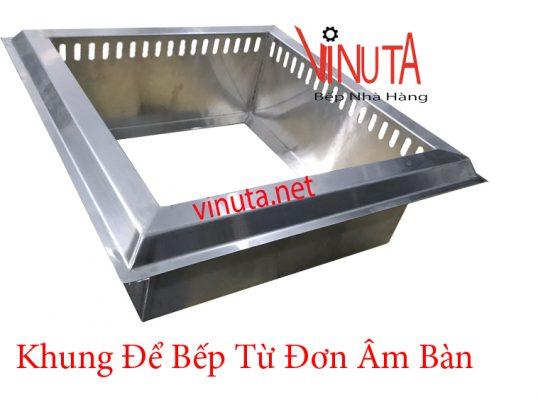 khung để bếp từ đơn âm bàn