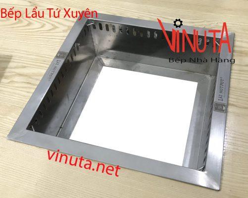 khung để bếp từ hình vuông âm bàn
