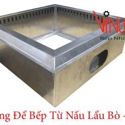 khung để bếp từ nấu lẩu bò trâu