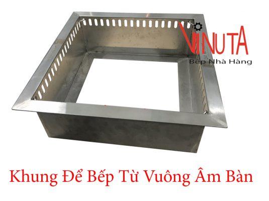 khung để bếp từ vuông âm bàn