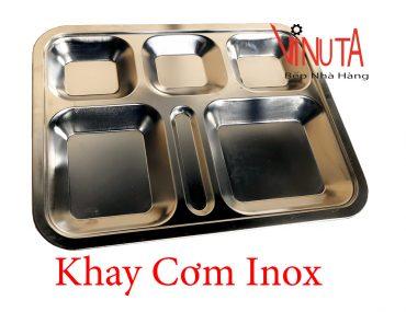 khay cơm inox