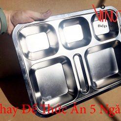 khay để thức ăn 5 ngăn