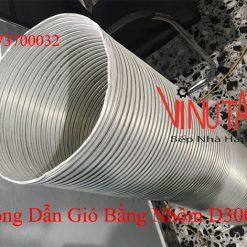 ống dẫn gió bằng nhôm d300