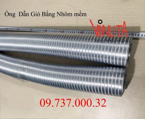 ống dẫn gió bằng nhôm mềm - nhún