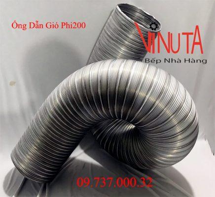 ống dẫn gió bằng nhôm mềm phi200