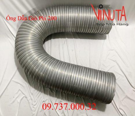 ống dẫn gió phi 200