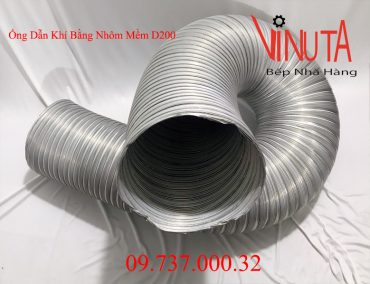 ống dẫn khí bằng nhôm mềm d200