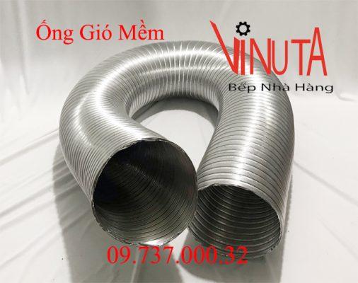 ống gió mềm bằng nhôm nhún
