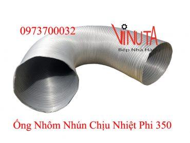 ống nhôm nhún chịu nhiệt phi 350