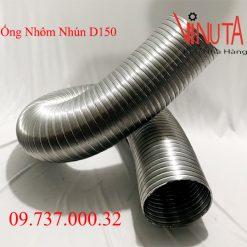 ống nhôm nhún d150