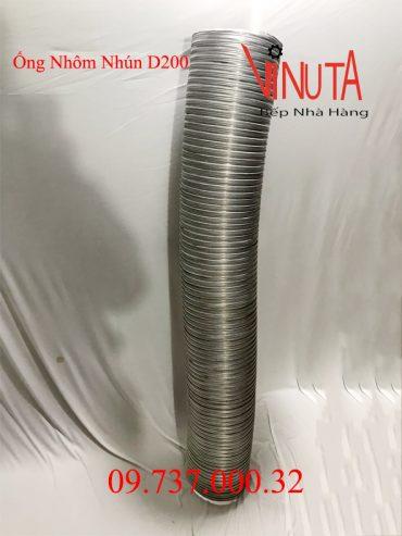 ống nhôm nhún d200