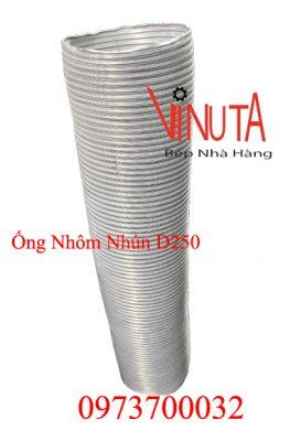 ống nhôm nhún d250