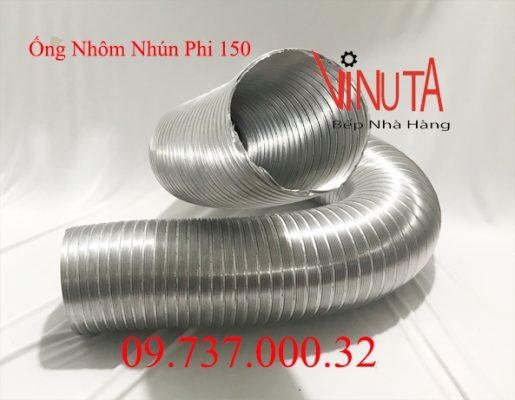 ống nhôm nhún phi 150