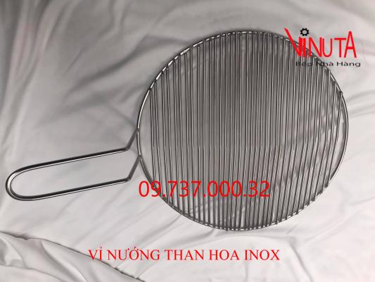 vỉ nướng bếp nướng inox304