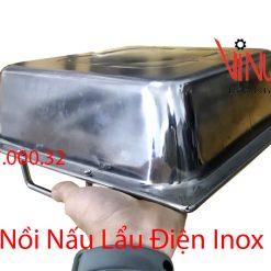 nồi nấu lẩu điện inox