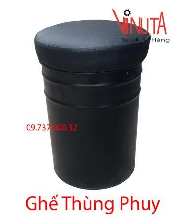 ghế thùng phuy