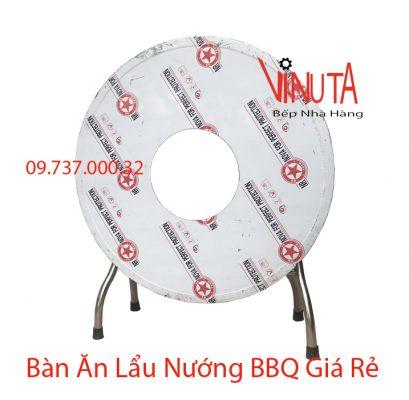 bàn ăn lẩu nướng bbq giá rẻ