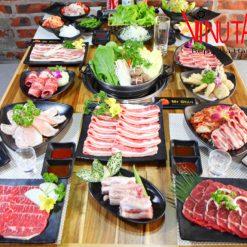 máy thái thịt ăn nướng