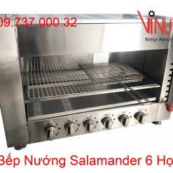 bếp nướng salamander 6 họng
