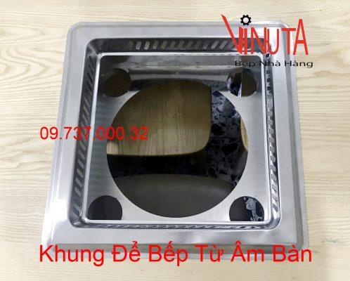 khung để bếp lẩu từ âm bàn