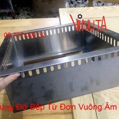 khung đỡ bếp từ đơn vuông âm bàn