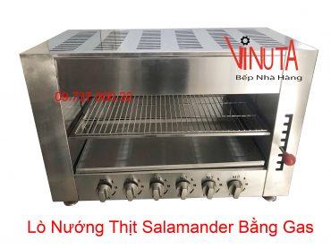 lò nướng thịt salamander bằng gas
