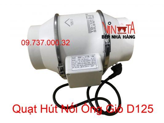 quạt hút nối ống gió d125