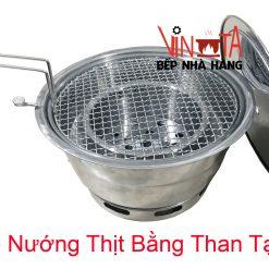 bếp nướng thịt bằng than tại bàn