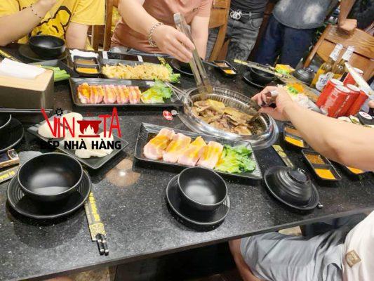 lò nướng thịt bằng than âm bàn